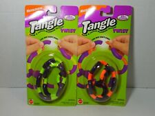 Vintage 1995 Tangle Twist Lot of 2 Mattel Therapy Toy Nickelodeon
