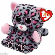 Ty Trixi Leopard Peek-A-Boo Phone Holder/Screen Cleaner Ty 3+, Boys & Girls