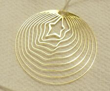 Collectible Thierry Mugler Allien Sunessence Necklace Goldtone / White Cord, New