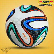 BRAZUCA FIFA WORLD CUP 2014 BRAZIL SOCCER BALL [SIZE 5] BY - Rampage Sports
