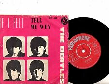 BEATLES 7' PS Tell Me Why NORWAY DP 562 VERY RARE UNIQUE COVER 45