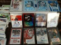 ~ Football Hot Pack Lot ~ 2 Auto Cards & 10 Rookies RCs Guaranteed ~ Autograph