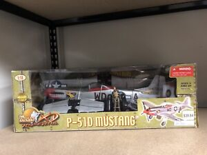 ULTIMATE SOLDIER P-51D MUSTANG.  1/18 scale.  The Ridge Runner. 21st Century Toy