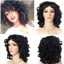 New Lady African Short Hair Wig Curly Hair Hood Small Roll Explosive Wigs New J