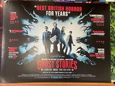 Ghost Stories (2017) Martin Freeman Original UK Quad Horror Film Poster (Black)