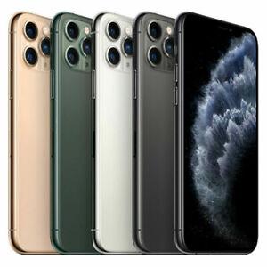 Apple iPhone 11 Pro Max 64GB 256GB 512GB All Colors - Unlocked / Network Locked