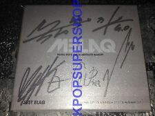 MBLAQ First Single Album Just Blaq Autographed Signed CD Great Cond. M Blaq