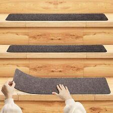 Non-Slip Carpet Stair Treads Safety Slip Resistant for All Ages, Pets Set of 7