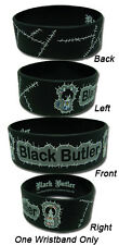 **License** Black Butler Cow Ciel & Sebastian PVC Wristband #54029