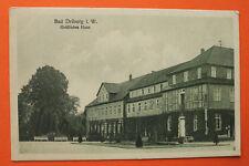 Ak Bad Driburg 1934 gräfliches casa edificio vista arquitectura plaza NRW 4