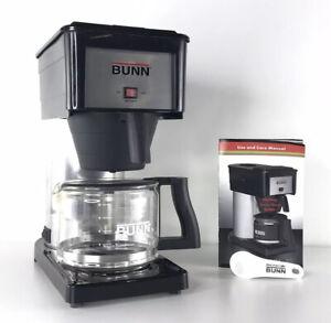 Bunn BX-B Stainless Coffee Maker Drip Coffee Machine 10 Cups Manual Scoop Bundle