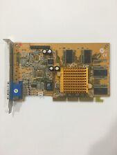 Nvidia AGP GeForce2 MX200 32MB AGP Video Card PV-T07L-BR V1.0 W04/01 VGA