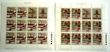 Malta Miniature Sheet 1979 Europa Cept Communication Mi#594-595 XF - Unfolded