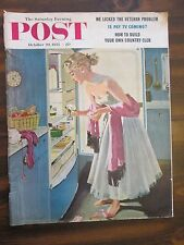 Saturday Evening Post October 29, 1955 Is Pay TV Coming?