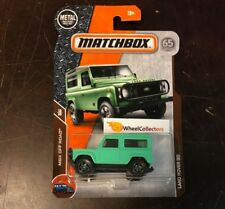 Land Rover 90 * GREEN * 2018 Matchbox Case C * NG8