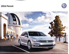 2016 VW Volkswagen Passat 20-page Original Car Sales Brochure Catalog