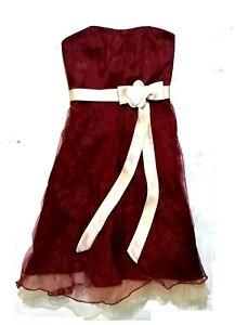 BNWT Alfred Angelo tube dress formal wear