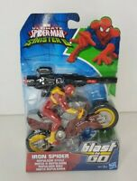 Ultimate Spider-Man Sinister 6 IRON SPIDER Repulsor Cycle Blast n Go - RARE!!