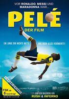 PELÉ - DER FILM   DVD NEU  KEVIN DE PAULA/SEU JORGE/MARIANA NUNES/+