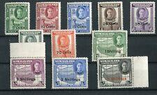Somaliland Protectorate KGVI 1951 set of 11 SG125/35 MNH