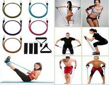 11 Pcs Resistance Bands Set Workout Exercise Pilates Yoga Crossfit Fitness Tubes