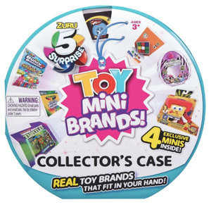 MINI BRANDS 5 Surprise Toy Collector's Case Store **NEW**