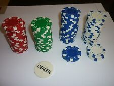 PROFESSIONAL POKER CHIPS GOOD CONDITION