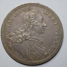 1760 Maxamillian III Patrona Bavariae Silver Thaler