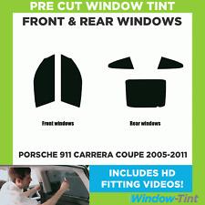Pre Cut Window Tint - Porsche 911 Carrera Coupe 2005-2011 - Full Kit