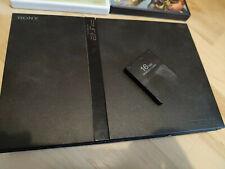 Sony PlayStation 2 Slimline schwarz + Zubehörpaket (Controller, Games, Adapter)