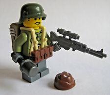 Lego Custom WW2 GERMAN PARATROOPER Minifigure Brickforge Weapons Army Military
