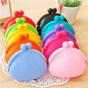 Mini Wallets Fashion Women Messenger Bags Silicone Coin Purse Children Gifts