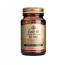 Solgar Coenzyme Q-10 30 mg Vegetable Capsules 90