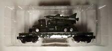 Menards O Gauge Rail Car Army Flatcar Truck Missile