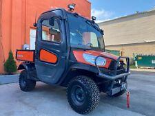 Loaded Kubota Rtv X1100C, Hydraulic Dump, Ac/Heat, 4X4, Mirrors, Brand New Winch