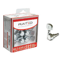 Graph Tech GTR241 Ratio Machine Heads for Acoustic Guitar - 3-a-side