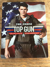 Top Gun STEELBOOK Blu Ray (with DVD) 30th Anniversary Edition nice!!