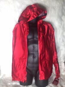 Brand New Burton IDIOM snowboard Jacket Red Mens Size Medium Retail Price $600