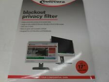 """Innovera® Blackout Privacy Filter for 17"""" Widescreen Notebook/LCD"""