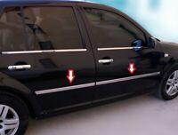 VW GOLF 4 IV 1998-2004 Chrome Side Door Streamer 4 Door 4 Pcs S.Steel