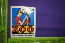 Alter Aufkleber ZOO Shoes & Accessories