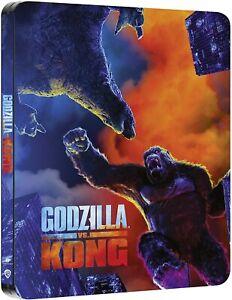 GODZILLA Vs. KONG 4K UK Steelbook UHD+Bluray 2021 Blu-ray Region Free pre Sale🔥
