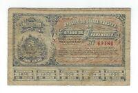 100 Reis Brasilien 1895 - Apolice Estado de Pernambuco - Brazil Banknote