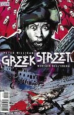 Greek Street Comic Issue 14 Modern Age First Print 2010 Peter Milligan Delledera