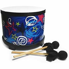 Floor Tom with Mallets Kids Children Music Toys Drum Play Fun Activities Gift