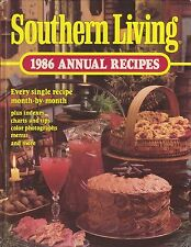 1986 Southern Living 1986 Annual Recipes (1985, Hardcover) Every Recipe For 1986