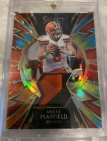 Baker Mayfield 2019 Select Tie Dye Two Color Patch /25 Card Browns