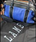 l.a.m.b cobalt Blue Satchel Crossbody Shoulder bag gwen Excellent Used Condition