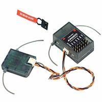 AR6200 Receiver 6 Channel-DSM2 2-4GHz for JR,DX5E DX6i DX7 DX8 Dx9 NEW