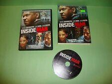Inside Man (DVD, 2006, Full Frame)